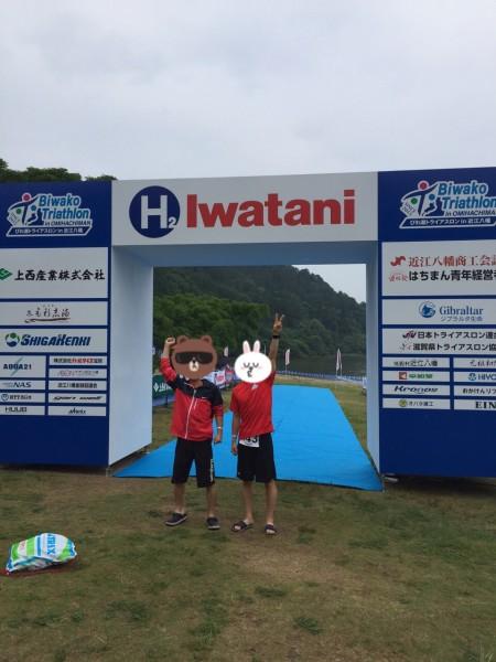 びわこトライアスロン 決戦用レンタルホイール専門店RIDE-FORWARD レースブログ